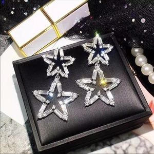 BOGO FREE NWT Star chase double dazzler earrings